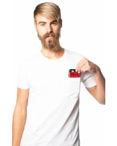 Small Image of Style 17057Unisex 50/50 Blend Pocket Tee