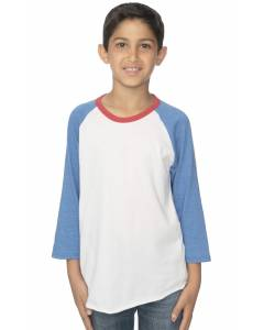 Small Image of Style 17220Youth Americana Raglan Baseball Shirt