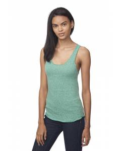Small Image of Style 20008Women's Triblend Raw Edge Tank Top