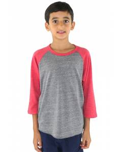 Small Image of Style 20260Youth Triblend Raglan Baseball Shirt
