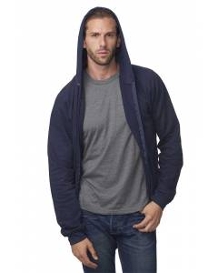 Small Image of Style 21051ORGUnisex Organic Full Zip Hooded Sweatshirt