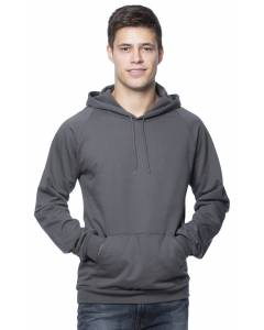 Small Image of Style 21052ORGUnisex Organic Hooded Pullover Sweatshirt