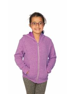 Small Image of Style 25020Youth Triblend Fleece Zip Hoody
