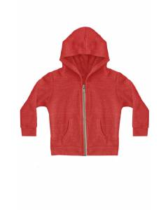 Small Image of Style 25060Toddler Triblend Fleece Zip Hoody