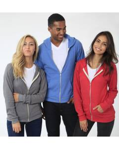 Small Image of Style 28050Unisex Thermal Full Zip Hoody
