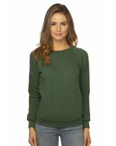 Small Image of Style 3099Women's Fashion Fleece Raglan Pullover