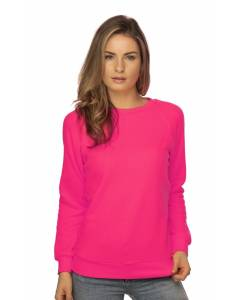 Small Image of Style 3099NWomen's Fashion Fleece Neon Raglan Pullover