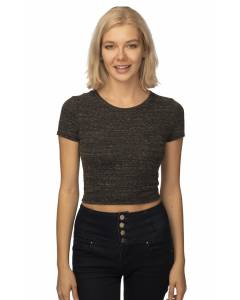 Small Image of Style 32084Women's eco Triblend Crop Tee