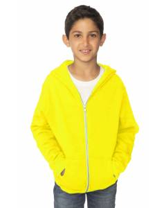 Small Image of Style 3222NYouth Fashion Fleece Neon Zip Hoody
