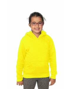 Small Image of Style 3229NYouth Fashion Fleece NeonPullover Hoody