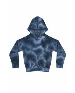Small Image of Style 3299CTDYouth Fleece Cloud Tie Dye Pullover Hoodie