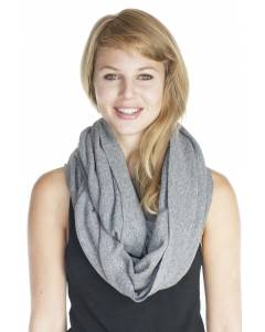Small Image of Style 34000Unisex eco Triblend Thermal Infinity Scarf