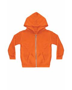 Toddler Fashion Fleece Neon Zip Hoody