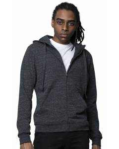 Small Image of Style 42100Unisex Eco Triblend French Terry Full Zip Hoody