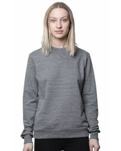 Small Image of Style 42108Unisex Eco Triblend French Terry Crew