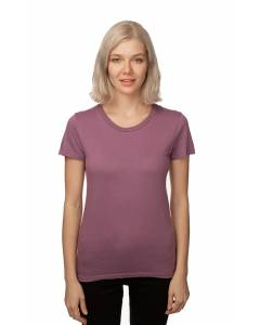 Small Image of Style 5001ORGWWomens Short Sleeve Organic Fine Jersey Tee