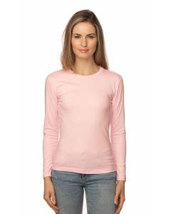 Small Image of Style 5002ORGWomen's Organic Long Sleeve Crew Tee