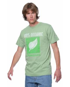 Small Image of Style 5051ORG%Printed 100% ORGANIC Cotton T-Shirt