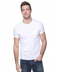 Small Image of Style 5117ORGUnisex Short Sleeve ORGANIC Pocket Tee