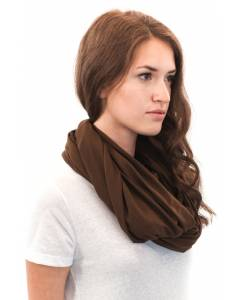 Small Image of Style 73000Unisex Viscose Bamboo ORGANIC Cotton Infinity Scarf