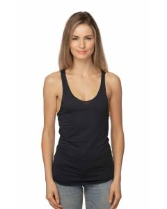 Small Image of Style 73008Women's Viscose Bamboo Organic Raw Edge Tank Top