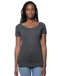 Small Image of Style 73112Women's Viscose Bamboo & Organic Cotton Scoop Neck