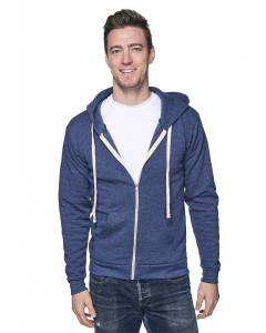 Small Image of Style 97150Unisex Organic RPET French Terry Zip Hoody