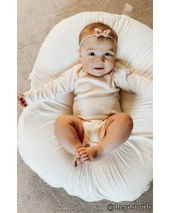 Small Image of Style 2037ORGOrganic Infant Long Sleeve One Piece
