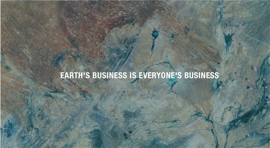 Earth's Business is everyone's business
