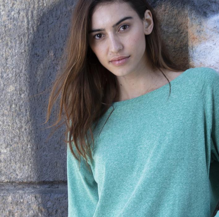 Triblend Long Sleeve Raglan Pullover